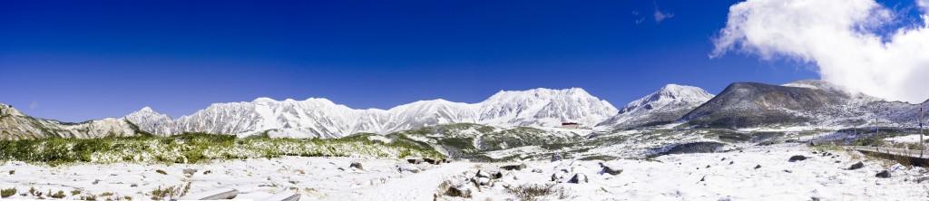 2015立山初冠雪